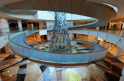 Interior of the Wafi mall in Dubai. United Arab Emirates. Photo taken at 15th of January 2012 Royalty Free Stock Photo