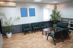 Interior of a waiting room Royalty Free Stock Images
