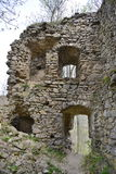 Interior wall of the Bologa medieval. Royalty Free Stock Photography