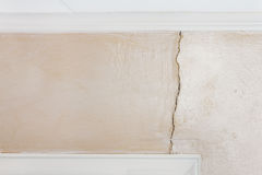 Interior Wall Damage Royalty Free Stock Images
