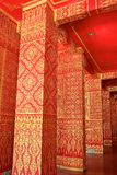 Interior wall painting of Thai temple Stock Photography
