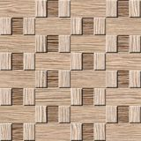 Interior wall panel pattern - Blasted Oak Grove wood texture Stock Photography