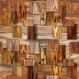 Interior wall panel pattern - decorative tile pattern Stock Photography