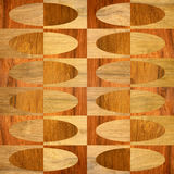 Interior wall panel pattern - seamless background - wood texture Royalty Free Stock Photography
