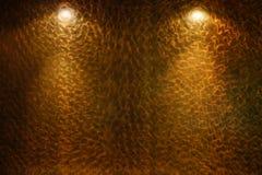 Interior wall with spotlight Stock Photography