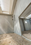 Interior walls of building under construction Stock Photos