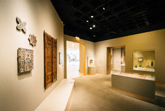 Interior of the Walter's Art Museum, in Mount Vernon, Baltimore, Royalty Free Stock Image