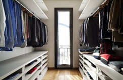 interior, wardrobe Stock Images