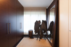 Interior, wardrobe room Royalty Free Stock Image