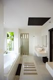 Interior of washing room Royalty Free Stock Images