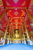Interior of Wat Chet Yod  temple Stock Images