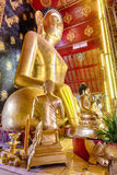 Interior of Wat Chet Yod  temple Stock Image
