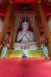 Interior of Wat Mangkol Thawararam (Wat Khrua Khrae), vertical Royalty Free Stock Photos
