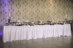 Interior Wedding Foto de Stock Royalty Free