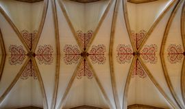 Interior from Wells Cathedral Royalty Free Stock Images