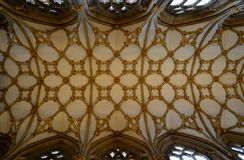 Interior from Wells Cathedral Royalty Free Stock Photography