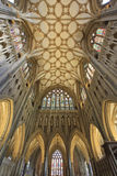 Interior of Wells Cathedral Royalty Free Stock Photography
