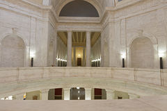 Interior of West Virginia State Capitol stock images
