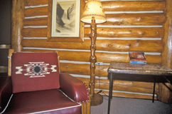 Interior of Western Heritage Center, Museum of Old West, Billings, MT Royalty Free Stock Photo