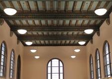 Interior of Western Washington University Library. Bellingham royalty free stock photo
