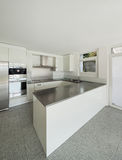 Interior, white kitchen Stock Photography