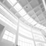 Interior of white office Royalty Free Stock Images