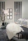 Interior of white room Royalty Free Stock Photo