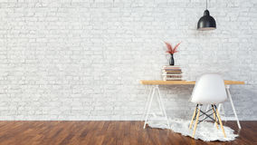 Interior white room background. Royalty Free Stock Image