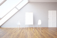 Interior with whiteboard Royalty Free Stock Photo