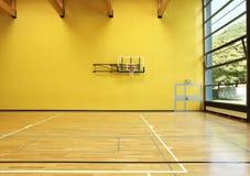 Interior wide gym. Public school, interior wide gym Stock Photos