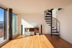 Interior, wide open space Royalty Free Stock Image