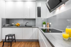 Interior that will change your cooking world Royalty Free Stock Photo