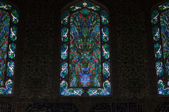 Interior of the windows in Topkapi palace in Istanbul Royalty Free Stock Photo