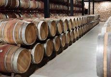 Interior  of wine cellar Stock Photos