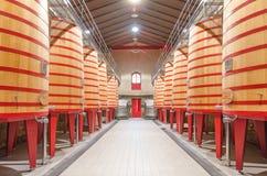 Interior of winery  Royalty Free Stock Photos