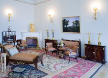 Interior of Winter Palace Royalty Free Stock Photography