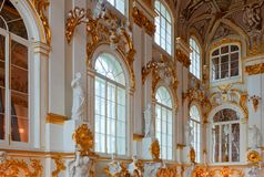 Interior of Winter Palace Royalty Free Stock Photo