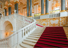 Interior of Winter Palace Stock Photos