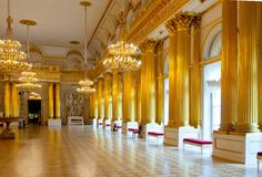 Interior of Winter Palace Stock Image