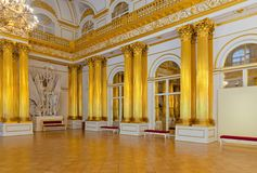 Interior of Winter Palace Stock Photography