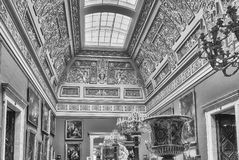 Interior of the Winter Palace, Hermitage Museum, St. Petersburg, Royalty Free Stock Photo