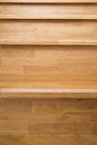 Interior - wood stairs. Home decoration material Royalty Free Stock Images