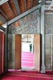 Interior wooden decorative at Langgar Mosque at Kota Bharu, Kelantan, Malaysia Stock Images