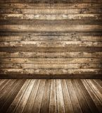 Interior of wooden house Stock Image