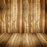Interior of wooden house Stock Photography