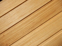 Interior Wooden Tiles. Wooden tiles slatted together to be used as ceiling or wall tiles Royalty Free Stock Photos