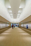 Interior work of Narita Airport in Japan Stock Image
