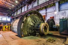 Interior of workshop factory Royalty Free Stock Image