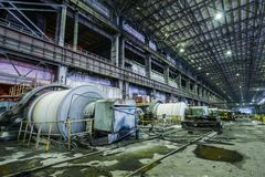 Interior of workshop factory Royalty Free Stock Images
