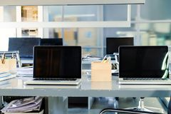 Interior Workspace Background Stock Photography
